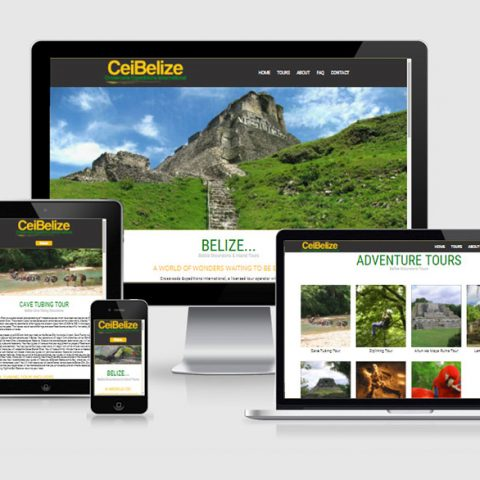 Belize website design - CEI Belize