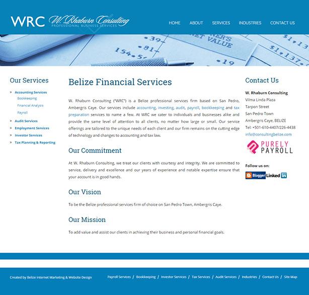 W. Rhaburn Consulting