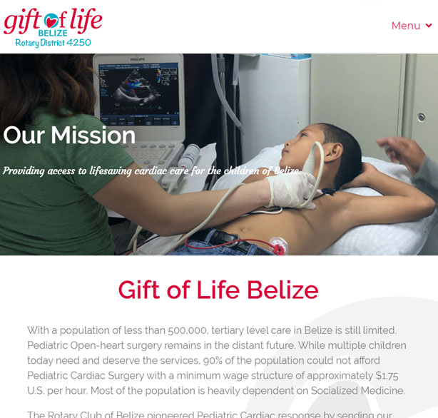 Gift of Life Belize