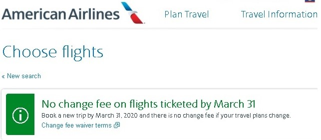 AA Cancellation Fee